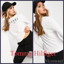 〜Tommy Jeans〜長袖ロゴTシャツ☆ホワイト