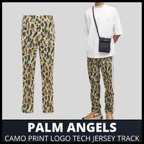 [PALM ANGELS] CAMO JERSEY TRACK PANTS (送料関税込み)