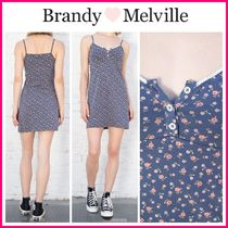 2021SS新作♪ ☆Brandy Melville☆ ARIANNA FLORAL DRESS