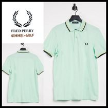 FRED PERRY(フレッドペリー) メンズ・トップス 【Fred Perry】Men's ポロシャツ ツインチップ グリーン