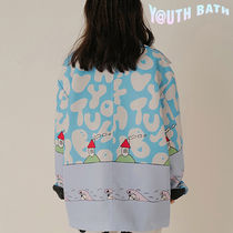 ★YOUTHBATH★GRAPHIC COLLAR JIP-UP JACKET_BLUE★正規品/人気