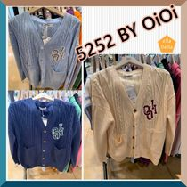 ★5252 BY OiOi★ OVERSIZED CABLE KNIT CARDIGAN