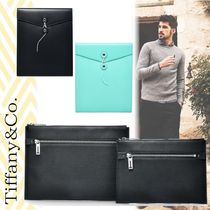 #3items【Tiffany&Co】ギフトにも最適☆Leather Pouch&Envelope