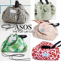 ASOS/The Flat Lay Co. 広がるメイクポーチ 5色展開◆国内発送