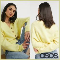 ★ASOS★& Other Stories/カーディガン(黄色) 【送関込】