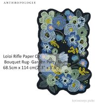 ANTHO*Loloi Rifle Paper Co. Bouquet Rug - Garden Party Blue