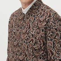"""RESERVED(リザーブド) ブルゾン """"RESERVED MEN"""" JACQUARD BLOUSON BROWN"""