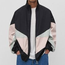 """RESERVED(リザーブド) ブルゾン """"RESERVED MEN"""" BLOCK COLOR WINDBREAKER MULTICOLOR"""