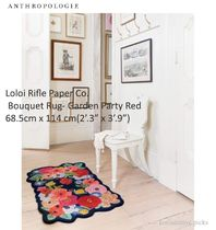 ANTHO*Loloi Rifle Paper Co. Bouquet Rug - Garden Party Red