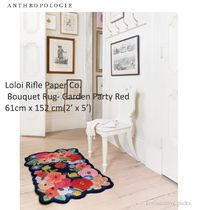 ANTHO*Loloi Rifle Paper Co.Bouquet Rug-Garden Party Red B