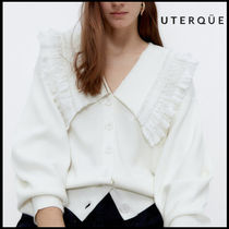 【Uterque】KNIT JACKET WITH BOOBS NECK