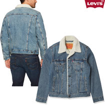LEVI'S|men's Original Sherpa Trucker Jacket In VintageBlue