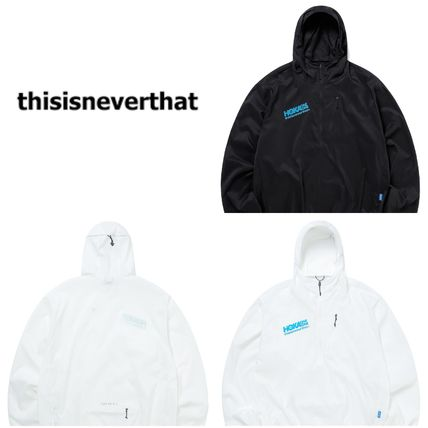 ◆thisisneverthat◆TNT HOKA Wind-Resistant Hooded Pullover