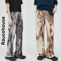 Raucohouse(ラウコハウス)★Marble Tie-Dye Pleated Pants