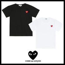 COMME des GARCONS(コムデギャルソン) キッズ用トップス ★COMME des GARCONS play kids★ハートロゴコットンTシャツ