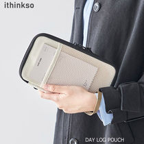 ithinkso(アイシンクソー) パスポートケース・ウォレット ithinkso■DAY LOG POUCH マルチポーチ 3色/追跡付