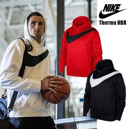 NIKE★Therma HBR Pullover Hoodie★ナイキ ビッグロゴパーカー