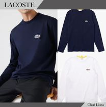 LACOSTE × National Geographic 長袖Tシャツ 2色 送料込み