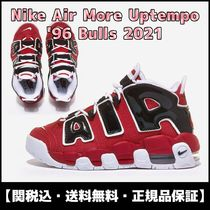 ★関税/送料込★ NIKE AIR MORE UPTEMPO GS 96 Bulls 2021