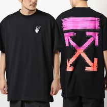 OFF-WHITE 半袖 Tシャツ MARKER S/S OVER TEE