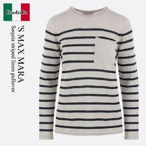'S Max Mara Sequia striped linen pullover