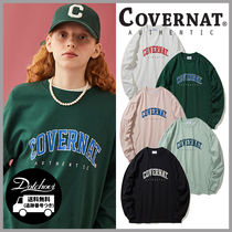 COVERNAT HAND DRAWING ARCH LOGO LONG SLEEVE HM710 追跡付