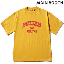 MAINBOOTH(メインブース) Tシャツ・カットソー ★MAINBOOTH★Buzzer Beater T-shirt(YELLOW)★正規品/直送料込
