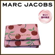 MARC JACOBS☆チェリー柄 レザー 3つ折り 財布☆送料込