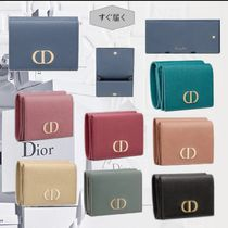 ★DIOR★ 30 MONTAIGNE コンパクトウォレット Gカーフスキン
