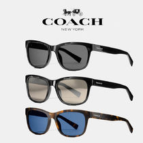 Coach コーチ HUDSON RECTANGLE SUNGLASSES【送料0/国内即発】