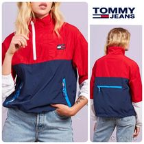 【Tommy Jeans】Colorblock Popover 軽量 ウインドブレーカー
