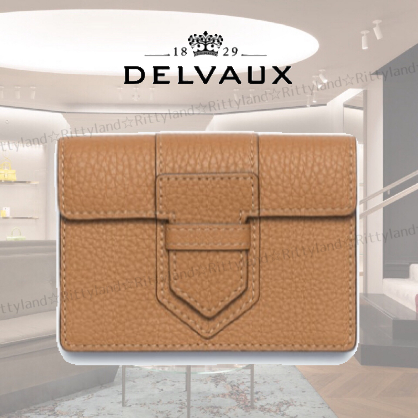 【21SS★新作】★DELVAUX★Presse Card Holder Taurillon Soft (DELVAUX/カードケース・名刺入れ) 66538605