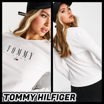 □Tommy Jeans□長袖ロゴTシャツ(送料込み)