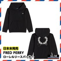 FRED PERRY(フレッドペリー) キッズ用トップス 日本未発売★FRED PERRY★ローレルリースパーカー