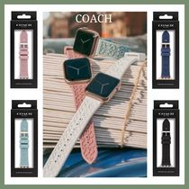 【COACH】Rubber 38/40mm Apple Watch band