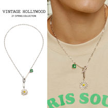 VINTAGE HOLLYWOOD(ヴィンテージハリウッド) ネックレス・チョーカー VINTAGE HOLLYWOOD★Swing Daisy Charm Necklace