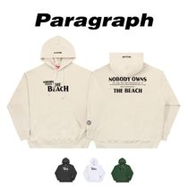 【PARAGRAPH】21ss★ NOBODY OWNS THE BEACH HOODIE No.22