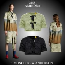 21SS★新作★1 MONCLER JW ANDERSON★AMINDRA ナイロン製ボレロ