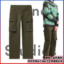 ★数量限定★ACNE-アクネ★Pango Cotton-Canvas Cargo Trousers