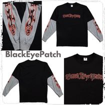 【BlackEyePatch】Layered LS Tee ロゴ Tシャツ ロングスリーブ*