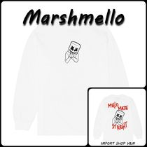 【Marshmello】☆MELLO MADE IT RIGHT カットソー 白☆送/関込