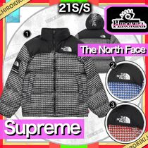 21SS /Supreme × The North Face Studded Nuptse Jacket ヌプシ
