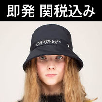 Off-White(オフホワイト) ハット ★OFF-WHITE OW LOGO BUCKET HAT バケット ハット