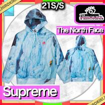 21SS /Supreme × The North Face Ice Climb Hooded Sweatshirt