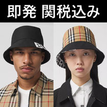 ★BURBERRY REVERSIBLE LOGO BUCKET HAT バケット ハット