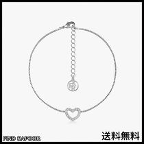 [FINDKAPOOR]HEART LINE HEART CUBIC SILVER ANKLET