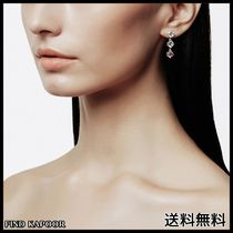 [FINDKAPOOR]CUBIC LINE 3 PINK EARRINGS