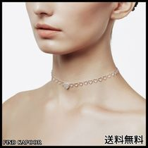 [FINDKAPOOR]HEART LINE HEART CHAIN SILVER NECKLACE