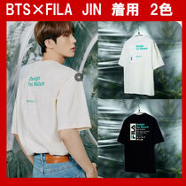 ★BTS×FILA★JIN着用 PROJECT7 PROJECT7 LOGO T-shirt 2色