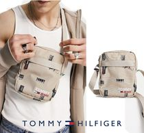 TOMMY HILFIGER ロゴ フライトバッグ クロスボディバッグ